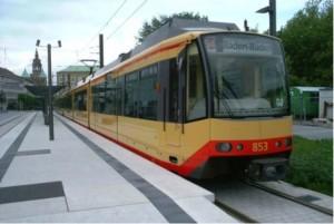 Figura 1: Fermata urbana della linea S4 a Helbronn in Germania